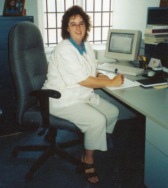 36-8-Tracy-01-2003-Tracy-Davis-new-staff-member